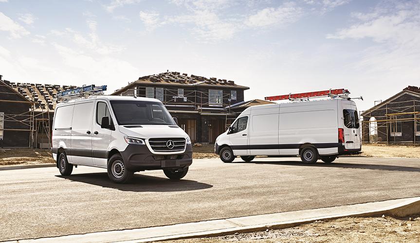 Mercedes-Benz представил новую спецверсию фургона Sprinter