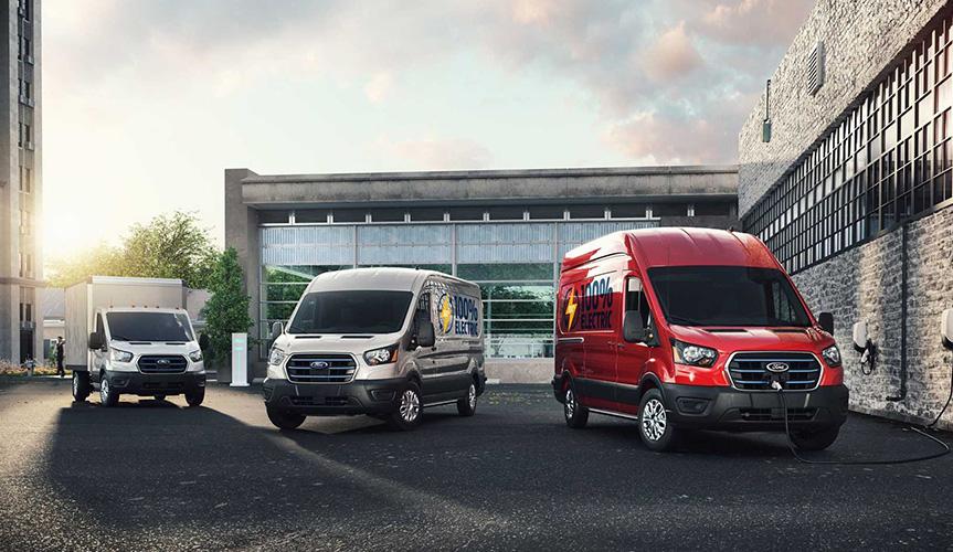 Электрический фургон Ford Transit представлен официально
