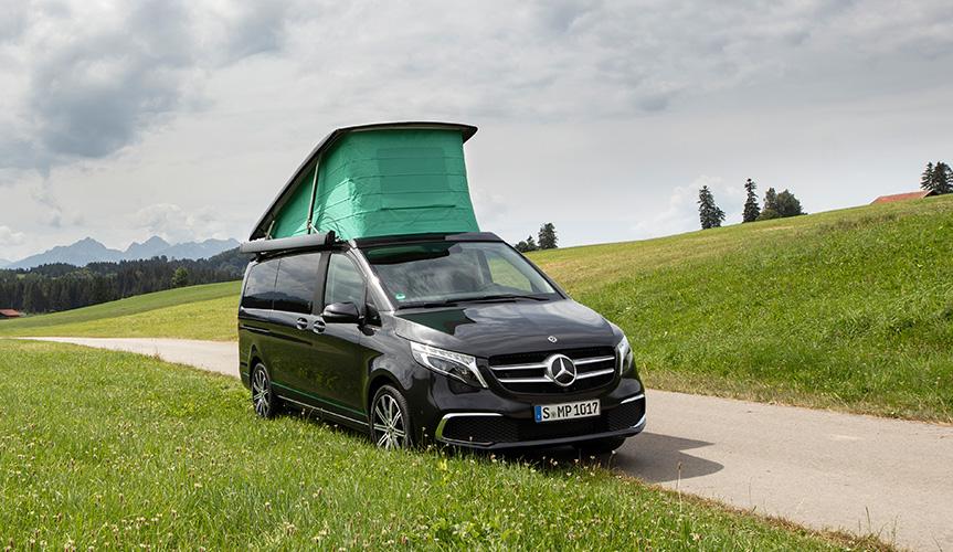 Mercedes-Benz представил спецверсию кемпера Marco Polo