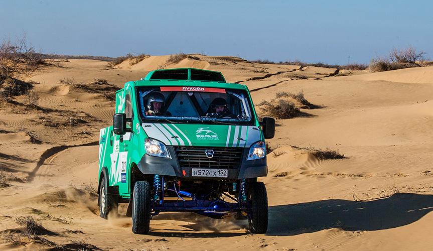 Автомобили «Группы ГАЗ» стали победителями III этапа Чемпионата России по ралли-рейдам