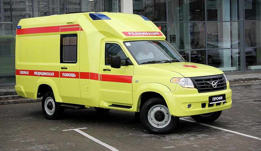 Автомобили скорой помощи на базе УАЗ «Профи» начали производить в Казахстане