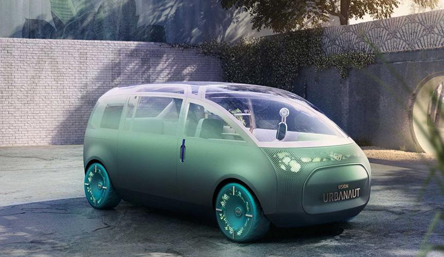 Компания Mini представила цифровой многофункциональный концепт-кар