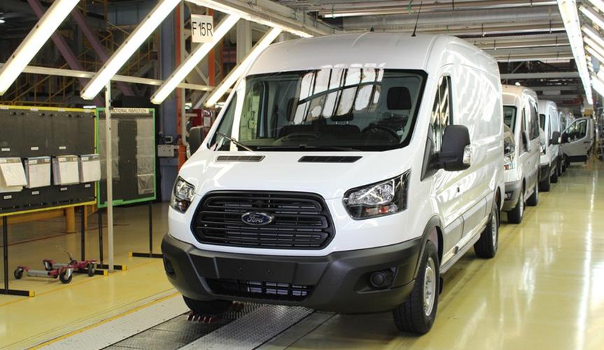 «Соллерс Форд» произвел 90-тысячный Ford Transit