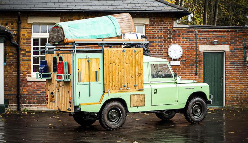 Кухня на колёсах на базе Land Rover Defender будет продана на аукционе