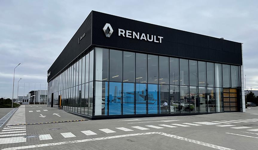 Renault Россия открыла новый дилерский центр в Минеральных водах