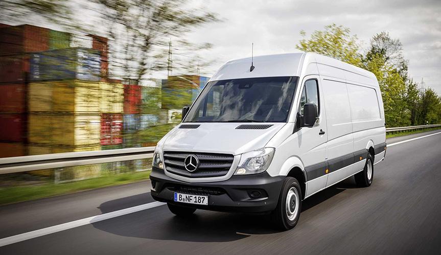 В России отзывают 90 фургонов Mercedes-Benz Sprinter