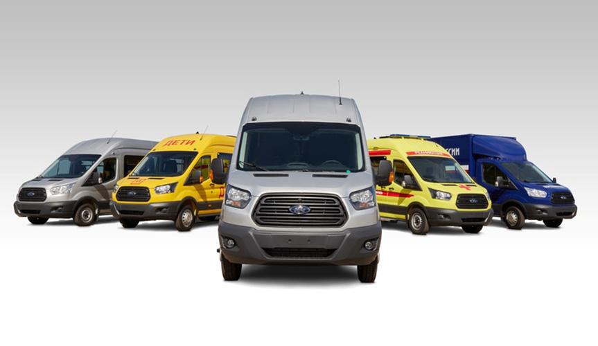 Продажи Ford Transit увеличились на 12% в 2020 году