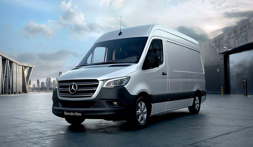 Результаты продаж коммерческих автомобилей Mercedes-Benz в 2020 году