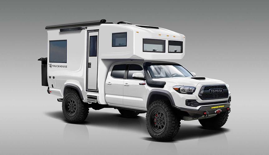 В Сети появились рендеры нового кемпера TruckHouse Tacoma 4x4