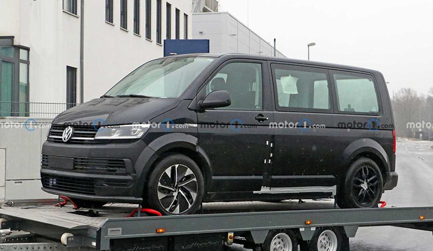 Опубликованы шпионские фото электрофургона Volkswagen ID Buzz