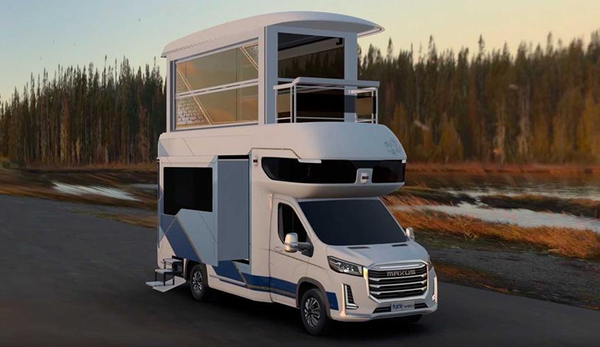 Компания SAIC Maxus представила огромный автодом