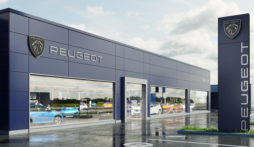 У компании Peugeot новый логотип