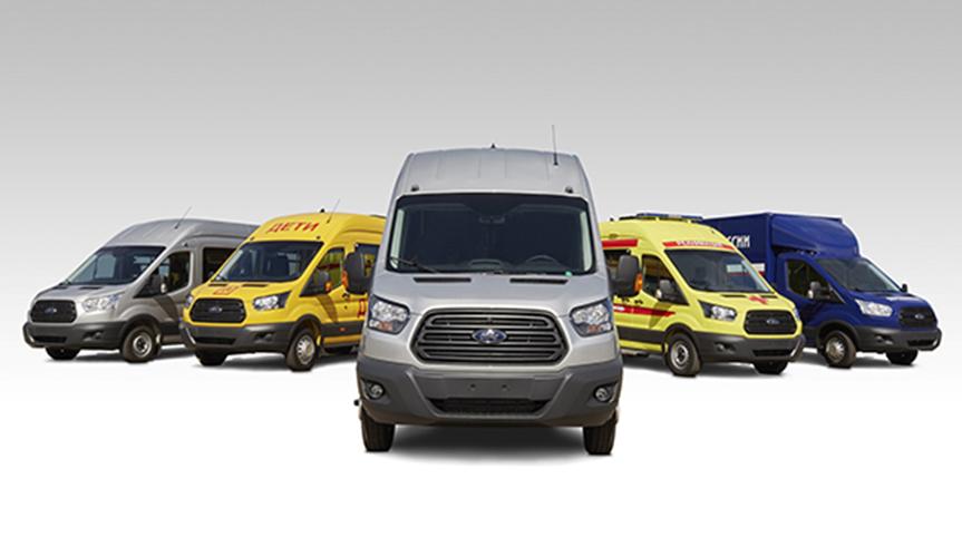 Продажи фургонов Ford Transit увеличились на 81% в феврале
