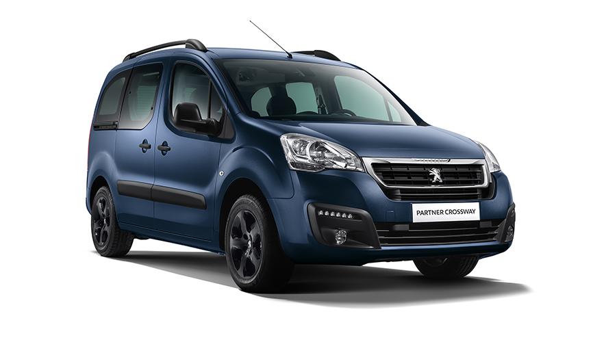 Новый компактвэн Peugeot Partner Crossway стал доступен для российских покупателей