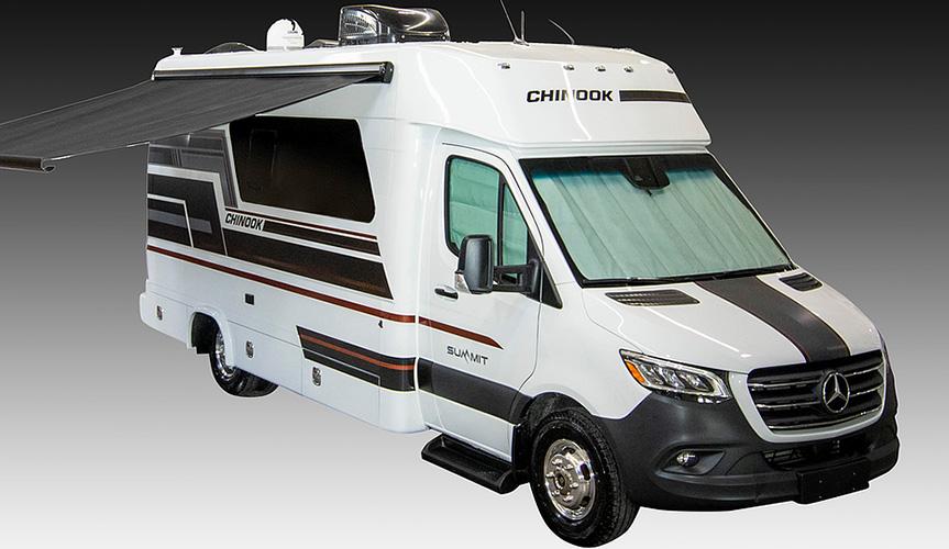 Компания Chinook представила новый многофункциональный автодом