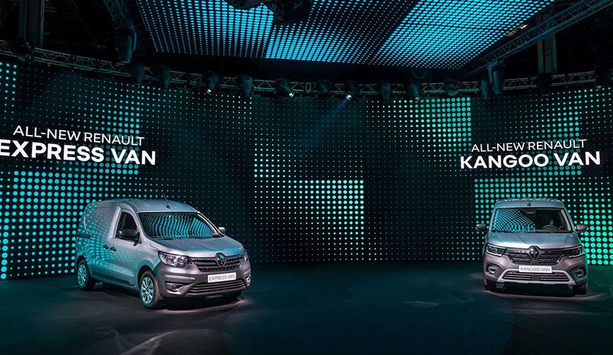 Новый электрофургон Renault Kangoo представили официально