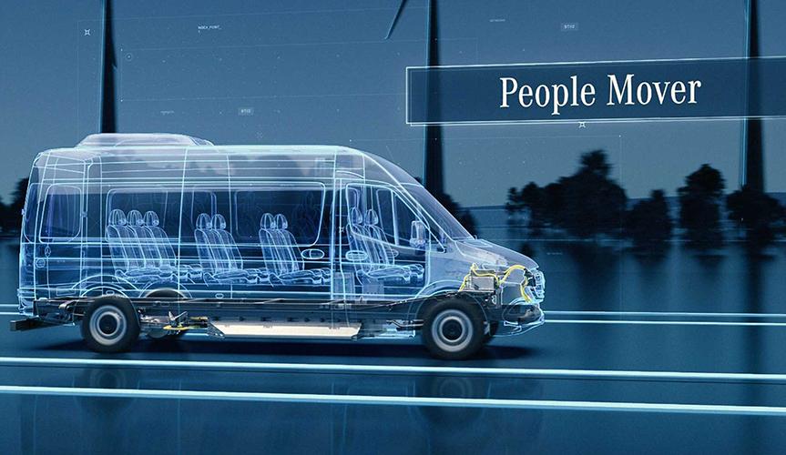 Новый электрофургон Mercedes eSprinter будет построен в США