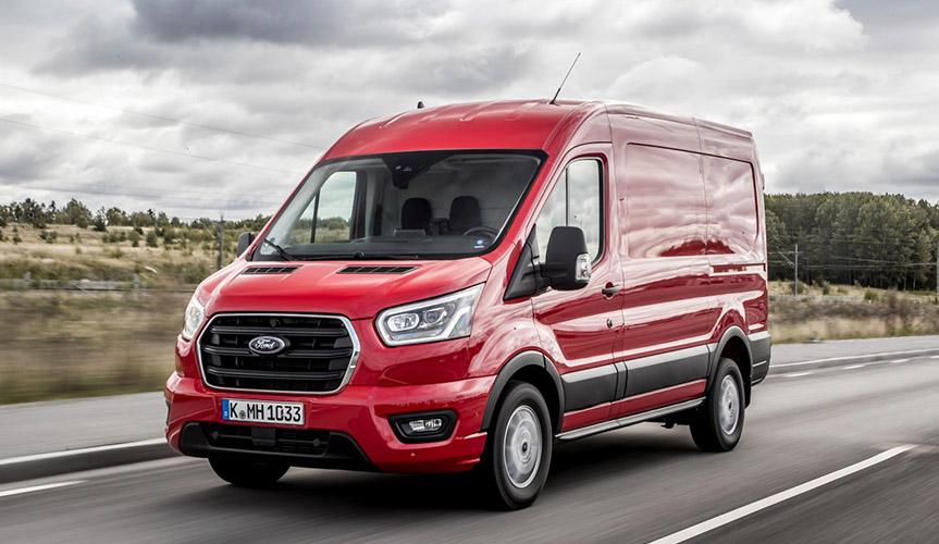 Продажи фургонов Ford Transit в 1 квартале в России