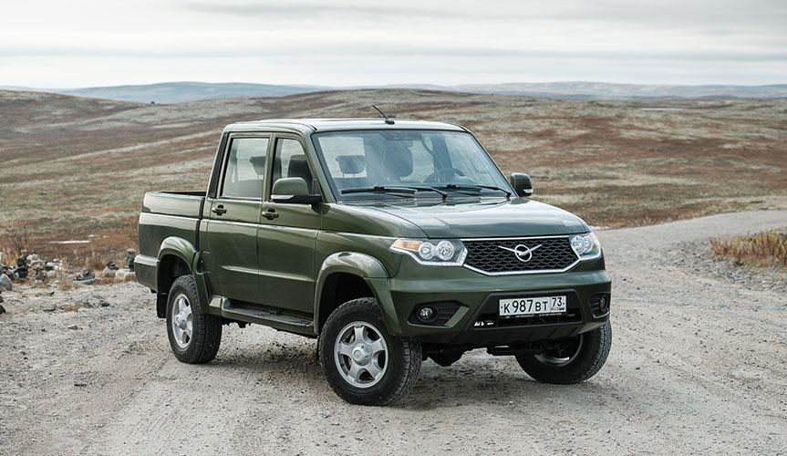 УАЗ «Пикап» стал лидером продаж в марте в России