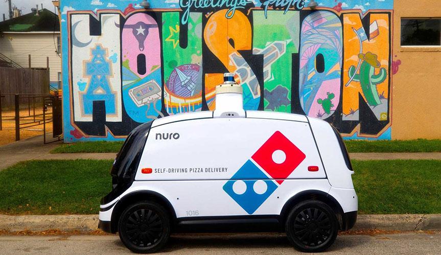Domino's Pizza будет использовать автономные автомобили для доставки пиццы