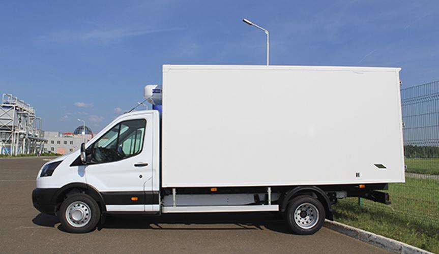 Изотермический фургон Ford Transit получил новых поставщиков холодильного оборудования