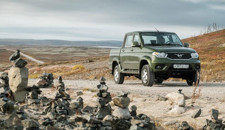 УАЗ «Пикап» стал самым продаваемым автомобилем в своём сегменте в 1 квартале