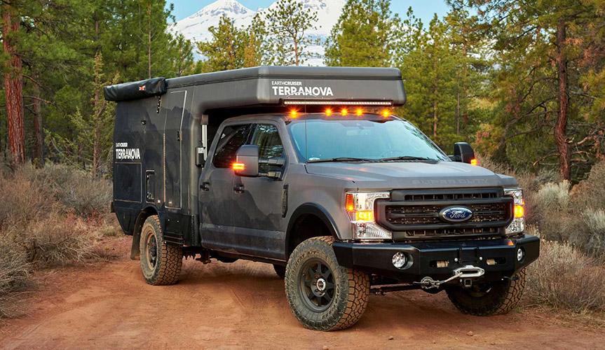 Компания EarthCruiser представила экспедиционный кемпер Terranova