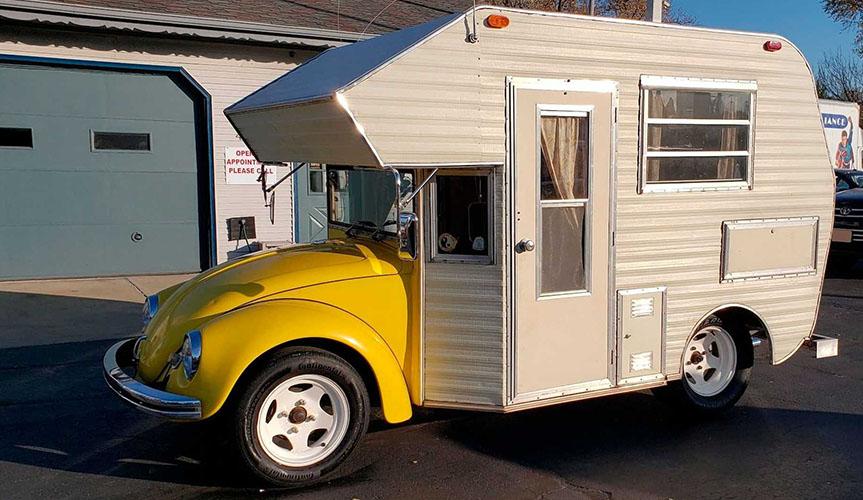 Volkswagen Beetle – кемпер, в котором можно жить