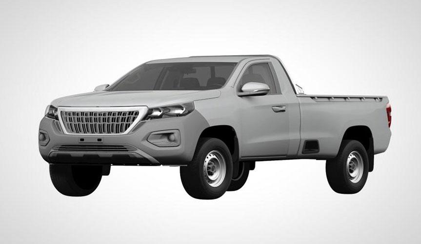 Компания Peugeot запатентовала внешность нового пикапа Landtrek в России