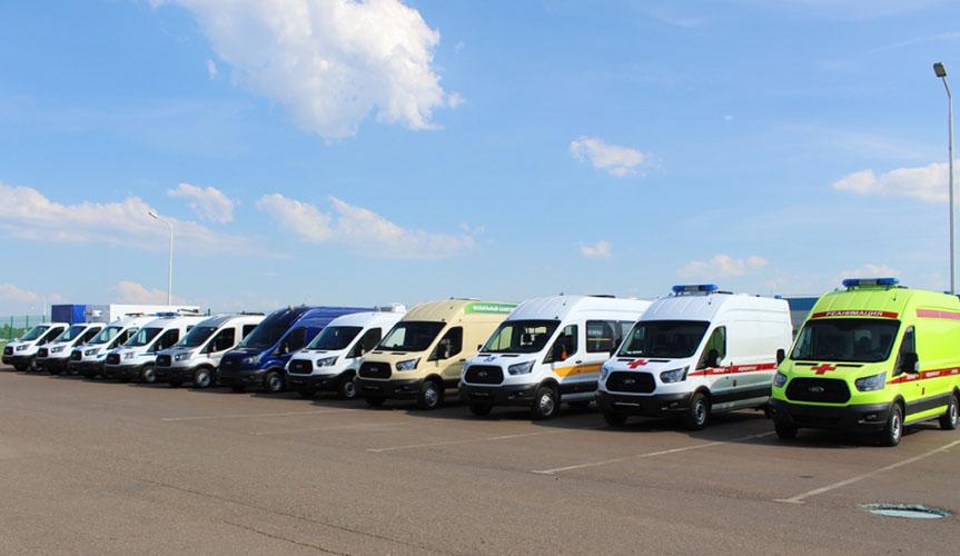 Статистика продаж фургонов Ford Transit в мае