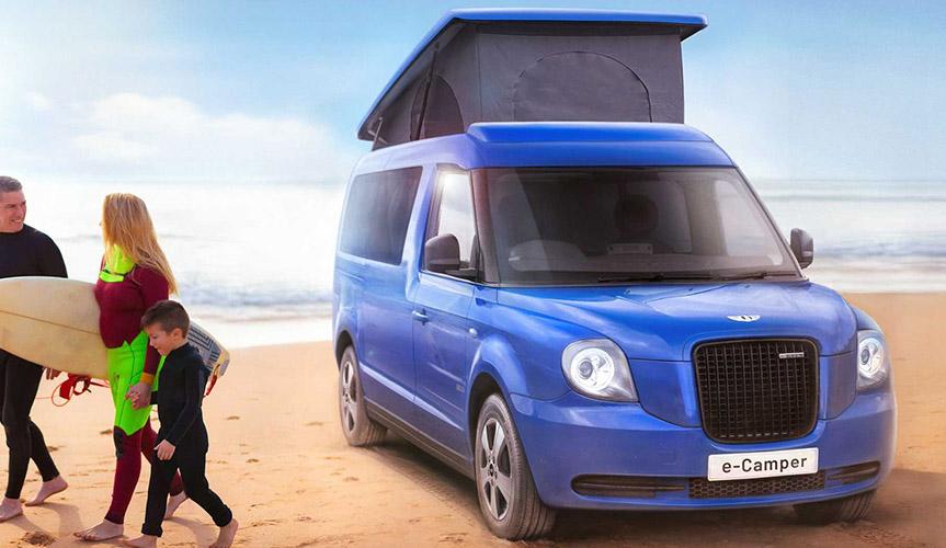 LEVC e-Camper – экологичный кемпер с корнями такси