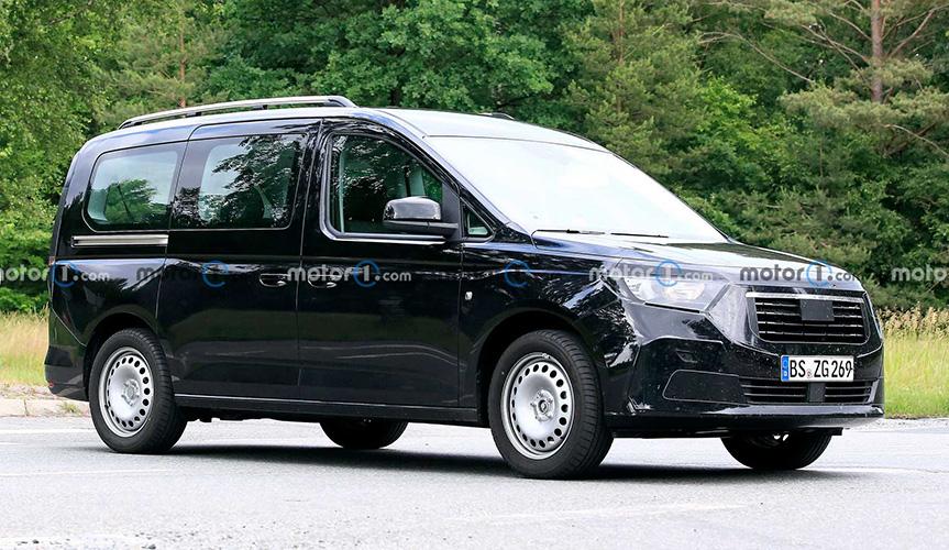 В Сети опубликовали изображения нового Ford Tourneo Connect