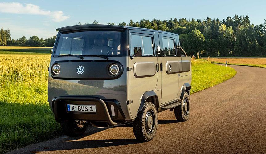 Xbus – новый трансформируемый электрический грузовик