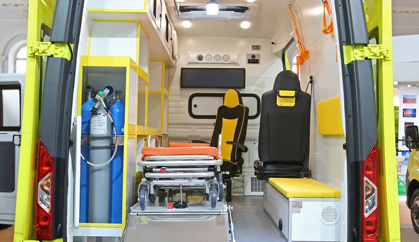 Автомобили ГАЗ для выездной вакцинации и скорой медпомощи представлены на форуме «Здоровье нации – 2021»