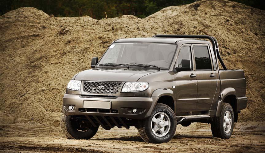 УАЗ «Пикап» стал самой популярной моделью в своём сегменте в России