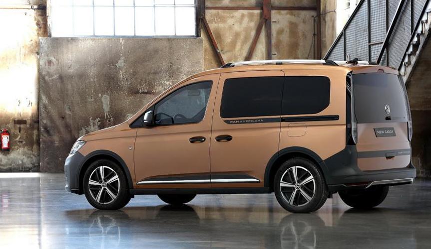 Кросс-версия Volkswagen Caddy PanAmericana стала доступна для российских покупателей