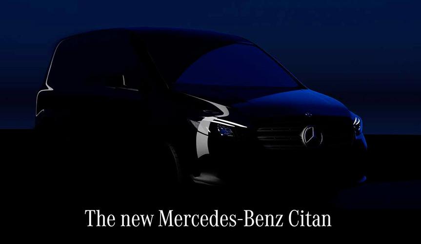 Mercedes-Benz опубликовал тизер нового Citan