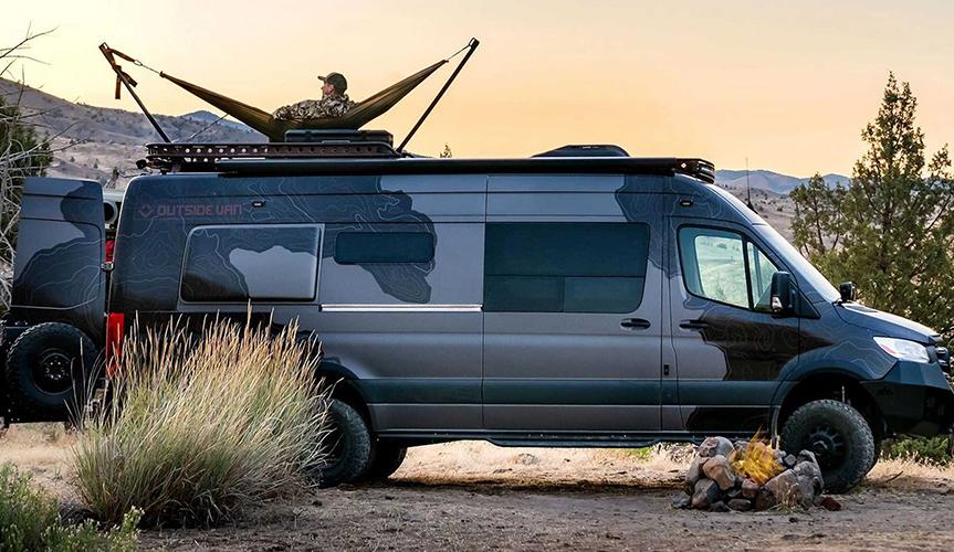 Кемпер для охотников от Outside Van