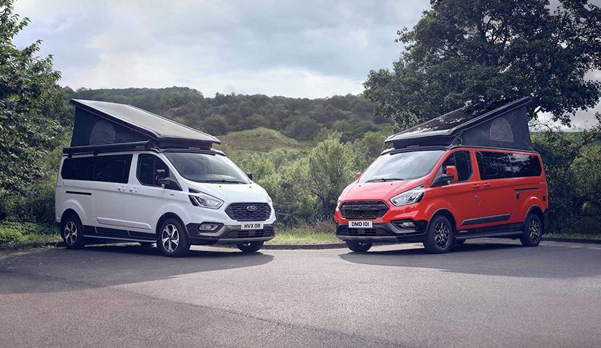 Ford представил два новых кемпера Transit