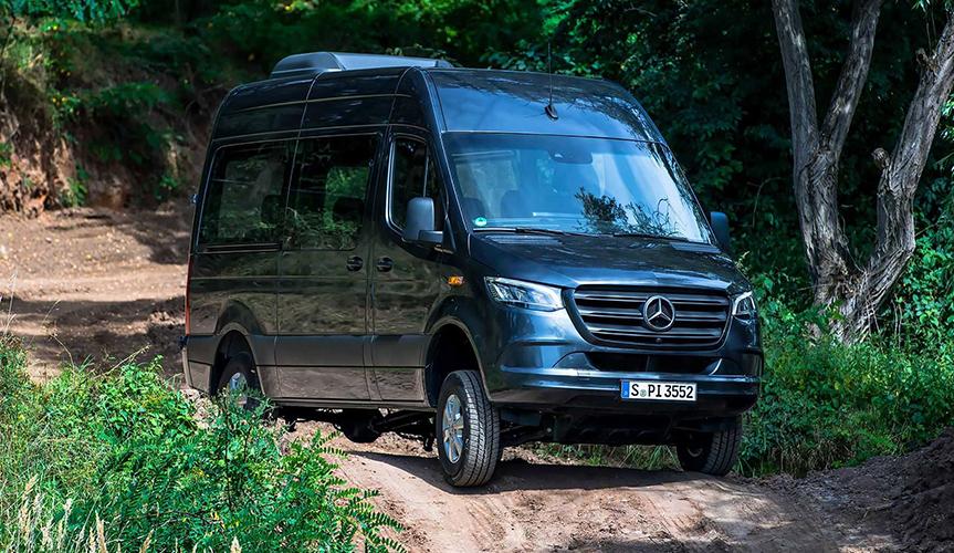 Mercedes-Benz представил обновлённый фургон Sprinter