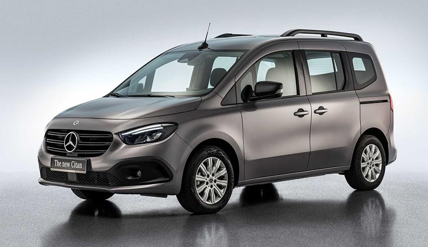 На базе нового Mercedes-Benz Citan сделают компактный дом на колёсах