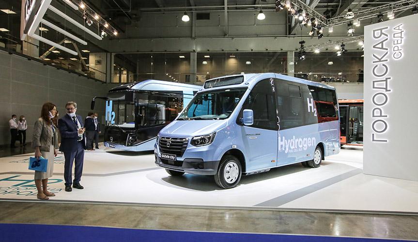 На выставке COMTRANS состоялась премьера новых моделей техники «Группы ГАЗ»