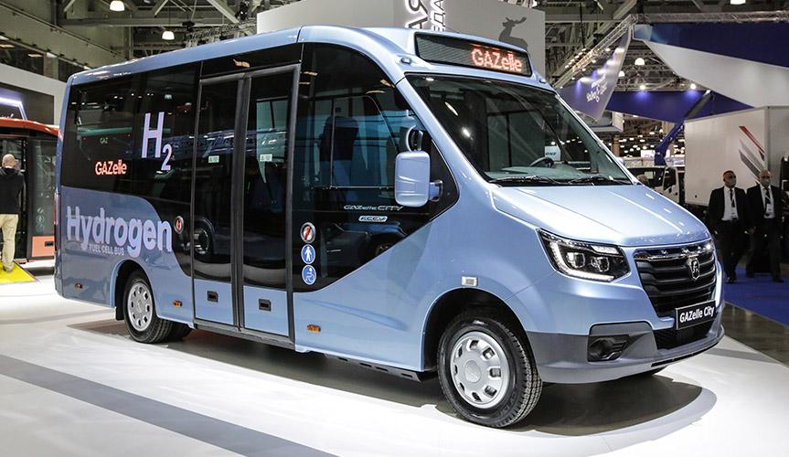 «Группа ГАЗ» представила электробусы на водородном топливе