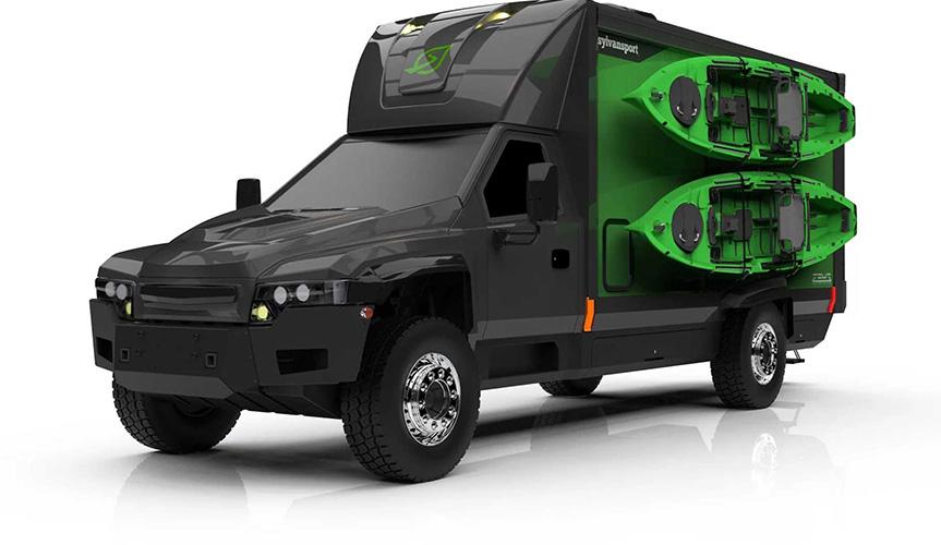 Разработан новый проект электрического автодома