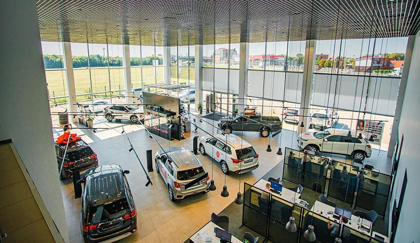В Краснодаре открылся дилерский центр Mitsubishi Motors