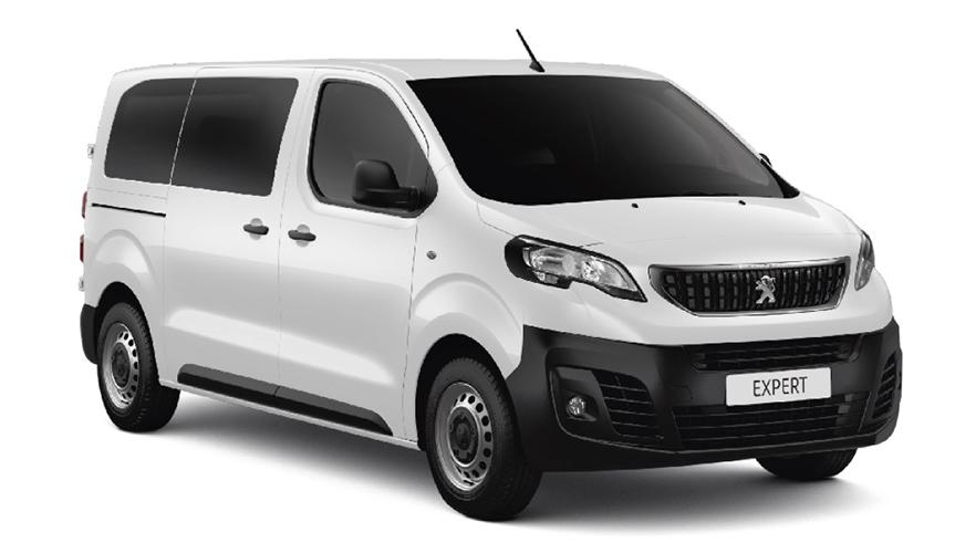 Peugeot представляет новую версию фургона Peugeot Expert - Бизнес-купе