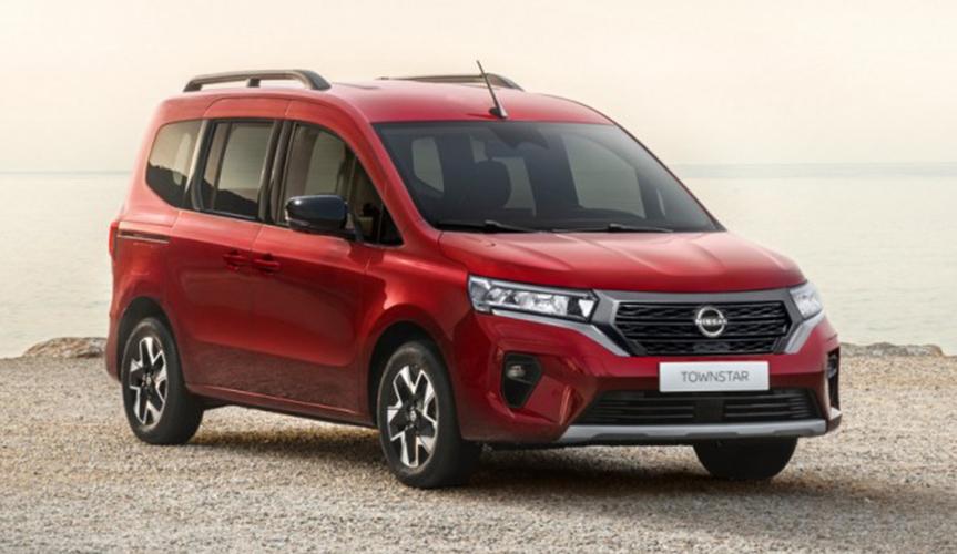 Компания Nissan представила новый минивэн Townstar