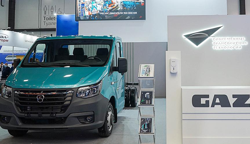 Горьковский автозавод представил автомобиль «ГАЗель NN» с газовым двигателем