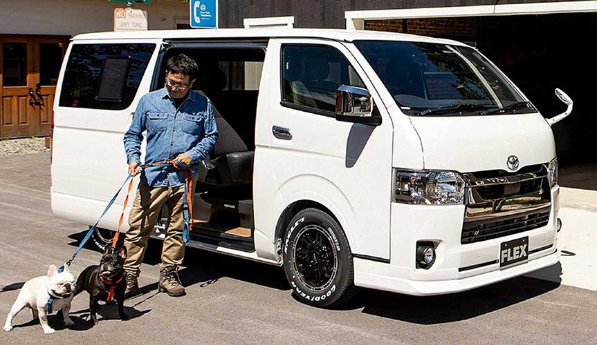 В Японии выпустили Toyota Hiace для собак