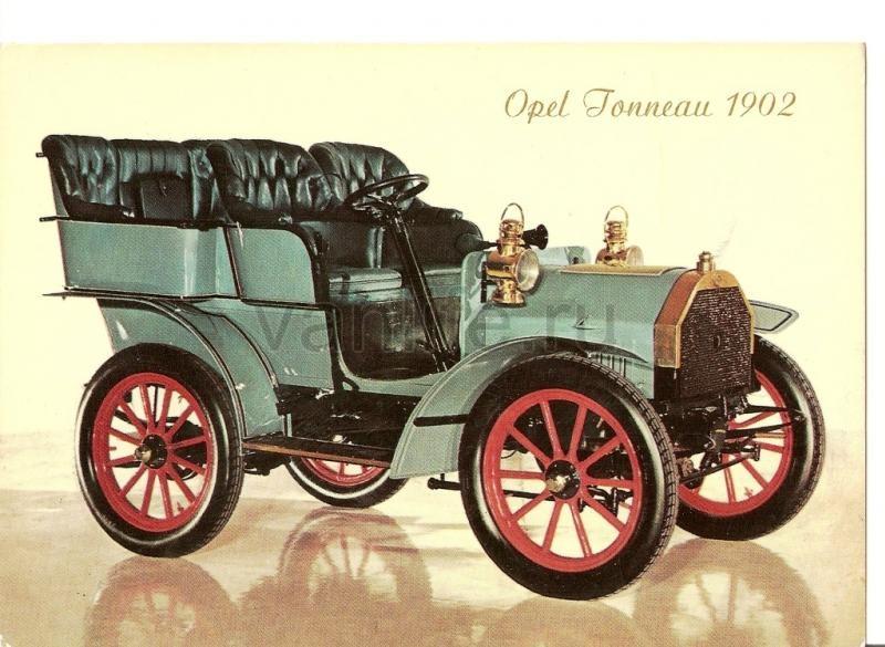 История компании Opel